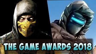 THE GAME AWARDS 2018 - All Best Game Trailers (1080p 60fps)