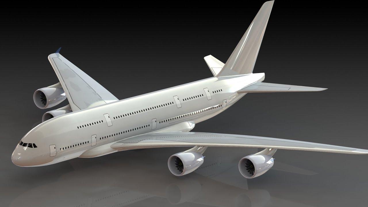 Designing An A380   Part 1  Fuselage   Part 1  Solidworks