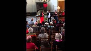 Kwartet Romanze met Dub de Vries op het orgel van de Grote Kerk in Westzaan.