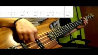 Queen - Crazy Little Thing Called Love (Bass Cover) (Play Along - Tabs In Video)