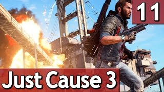 Just Cause 3 #11 das SCHIFF der GRAUENS 60 FPS Abriss Simulator Lets Play deutsch german