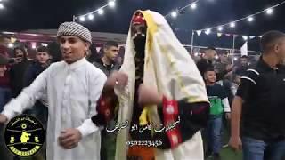 دخول الحاشي بالجيبات مع يوسف الصرايعة في حفل العريس فوزي ابو عايش.... حريقة