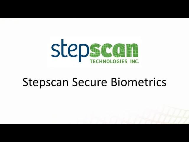 Stepscan Technology - Secure Biometrics