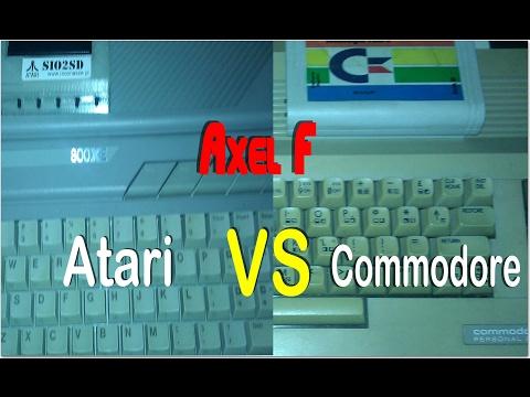 Axel F - Atari Vs Commodore