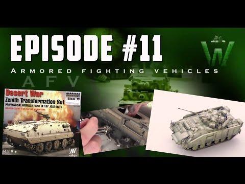 Tutorial: British Desert War 1/35 MCV-80 Warrior by Carlos Costa | Warfare in Scale