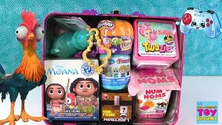 Surprise Lunchbox Moana Disney Shopkins My Little Pony Twozies & More Opening | PSToyReviews