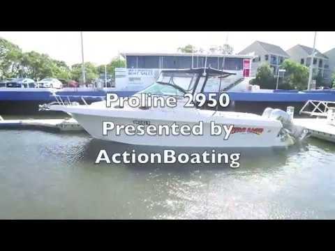 Proline 2950 for sale, Action Boating, boat sales, Gold Coast, Queensland, Australia