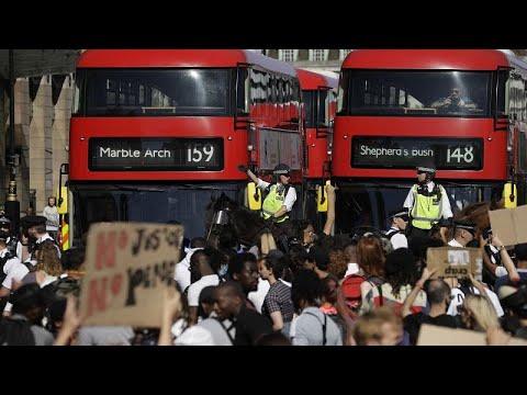 George Floyd : la colère gagne Londres et Berlin