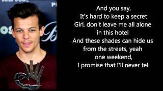 One Direction - Change Your Ticket ( Lyrics + Pictures )