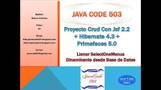 PARTE 5, CRUD MVC CON JSF, HIBERNATE Y PRIMEFACES