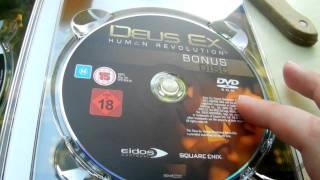 Unboxing Deus ex Human Revolution Augmented edition x360