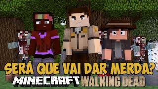 Minecraft The Walking Craft - Adentrar a floresta é uma boa ideia?