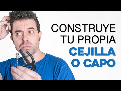 Aprende cómo fabricar un capo o cejilla casero como hacer capo por  guitarraviva