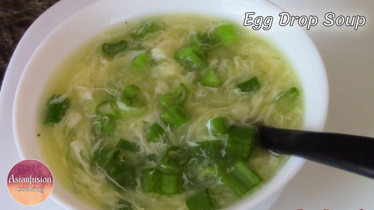 how to make chinese egg drop soup video
