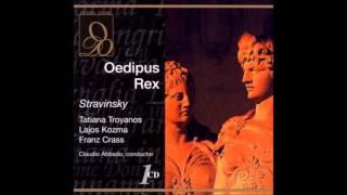 "Stravinsky ""Oedipus Rex"" Claudio Abbado"