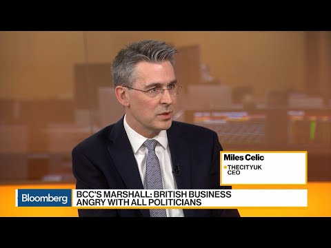 Financial Industry Has Expected a Hard Brexit, Says TheCityUK's CEO