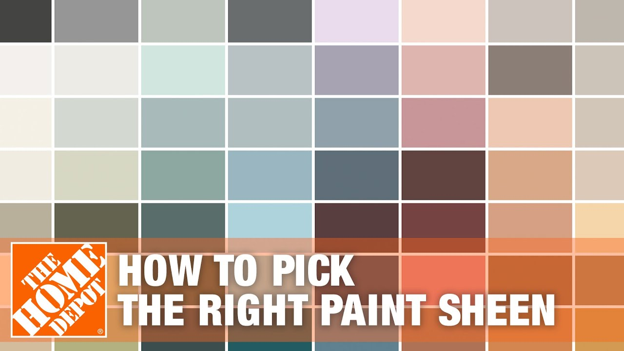 How To Pick The Right Paint Sheen