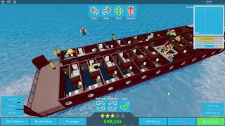 Roblox Cruise Ship Tycoon Gameplay part 4