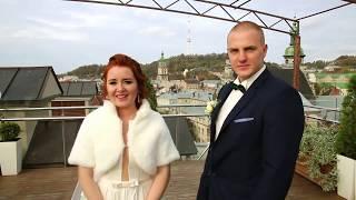 WEDDING  LVOV       Наше весілля     Львов   Роксолана  Будьмо Soni
