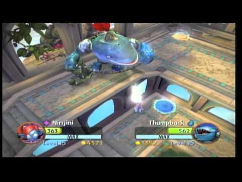 Skylanders giants pvp ninjini vs thumpback youtube - Skylanders thumpback ...