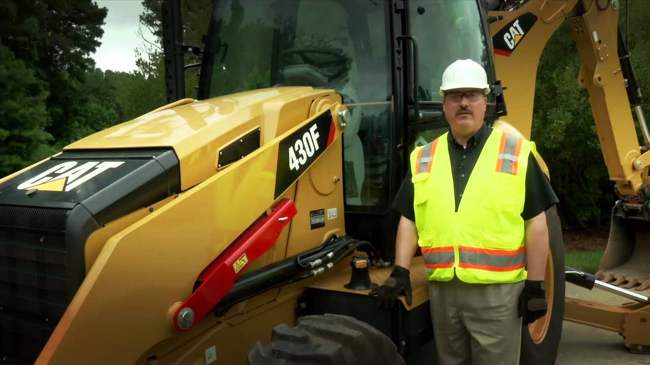 machine fuel system maintenance practices for the cat 416f 420f and 430f backhoe loaders youtube [ 1280 x 720 Pixel ]