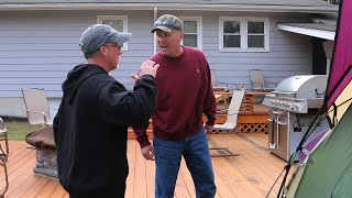 PSYCHO DAD FIGHTS UNCLE LARRY!