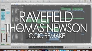 Ravefield - Thomas Newson Logic Pro Remake + LLP [HD]