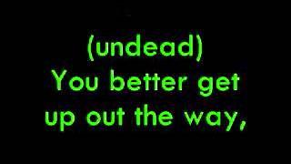 Hollywood Undead - Undead (lyrics)