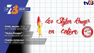 7/8 Le journal. lundi 7 janvier 2019