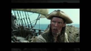 Пираты карибского моря, мертвецы не рассказывают сказки, клип под песню монстер