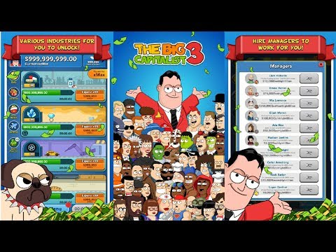 Install The Big Capitalist 3 MOD APK Unlimited Gems and Cash - Full