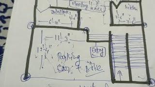 20*40 Hous Plan ll 20*40 🏠 House Design ll अपने सपनों का घर