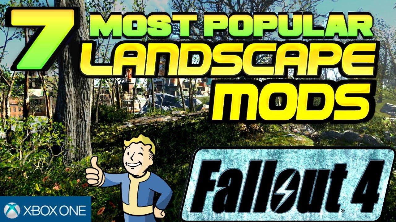 Fallout 4 Mods (XB1) 7 Most Popular Landscape Mods Showcase