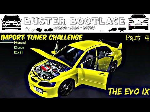 "Buster Plays: Import Tuner Challenge on Xbox 360 Part 4 - ""Speedy Professor"""
