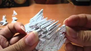 【tanya's Version】 3d Origami Swan