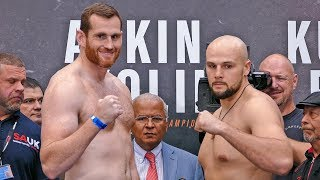 Joshua vs. Povetkin FULL UNDERCARD WEIGH IN | Matchroom Boxing