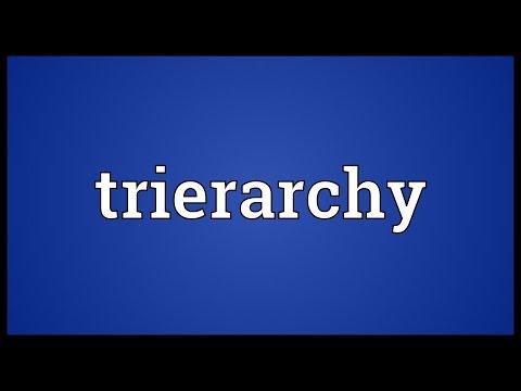 Header of trierarchy
