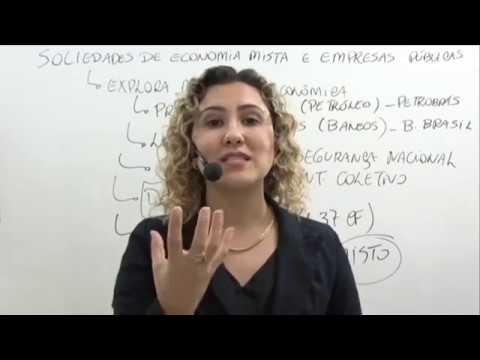 SOCIEDADE DE ECONOMIA MISTA  E EMPRESAS PÚBLICAS - DIREITO ADMINISTRATIVO - CAROL SCHETTINO