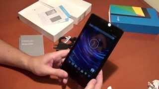 Nexus 7: распаковка
