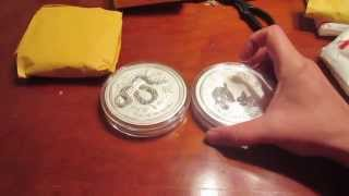 first major purchase of silver and first video
