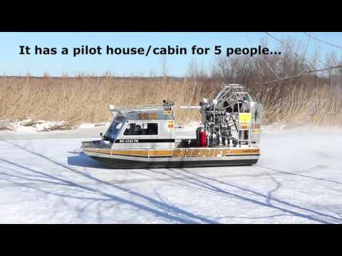 Tuscola County/Huron County Airboat Unveil Feb. 18, 2016