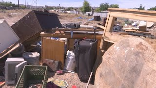 Illegal dumping a blight in the south Phoenix community