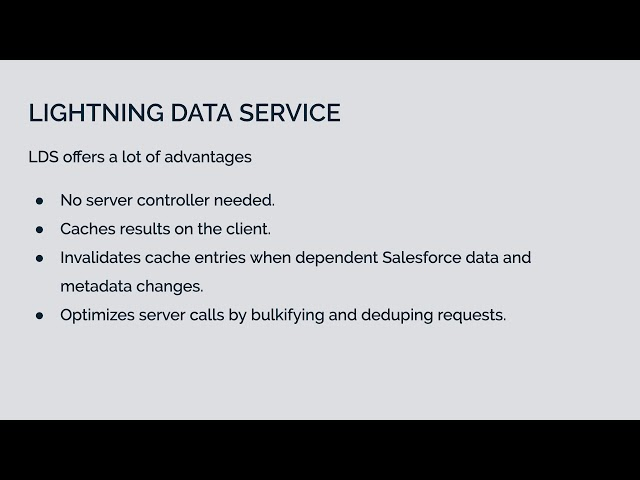 Working With Salesforce Data  | LWC Development Course Preview