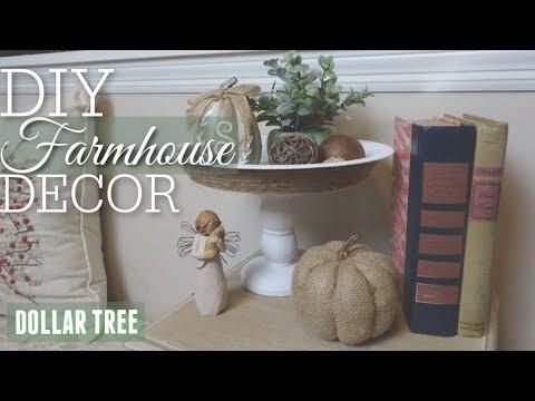 DIY FARMHOUSE TRAY | DOLLAR TREE DECOR DIY