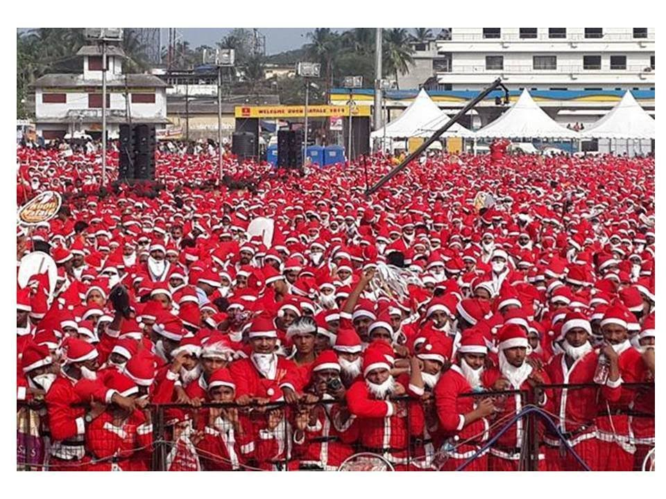 Buon Natale Thrissur.Buon Natale Carol Merry Christmas Thrissur 2014 Guinness World Record