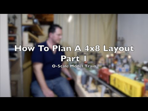 How To Plan A Small 4×8 Layout Part I O Scale Model Train