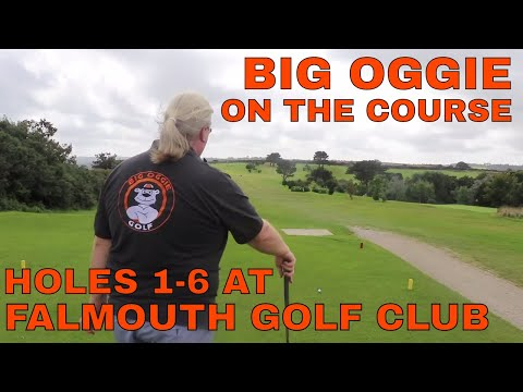 FALMOUTH GOLF COURSE. HOLES 1-6 BIG OGGIE ON THE COURSE