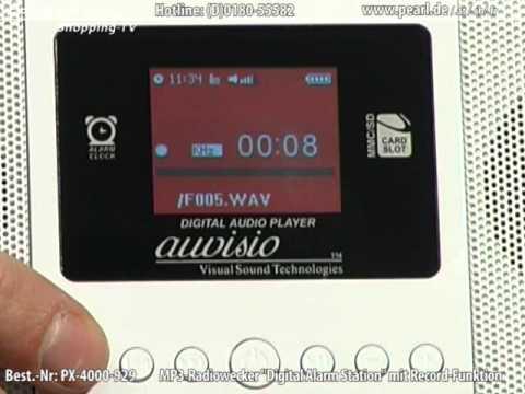 auvisio MP3-Radiowecker