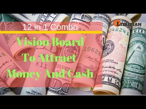 Vision Board To Attract Huge Money & Cash By Sharat Sir