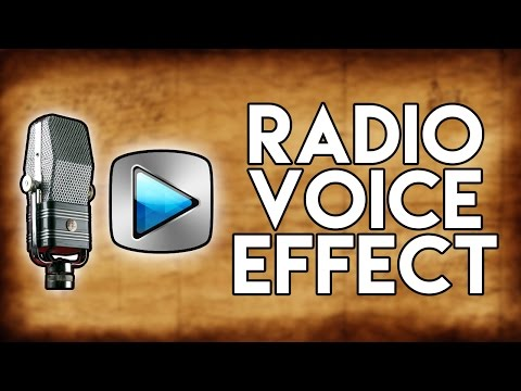 How To: Radio Voice Effect in Sony Vegas